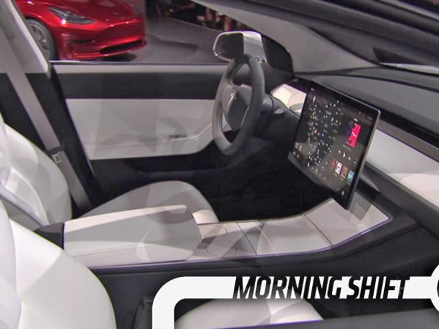 The Tesla Model 3's Minimalist Interior May Be Key To Keeping The Price Down