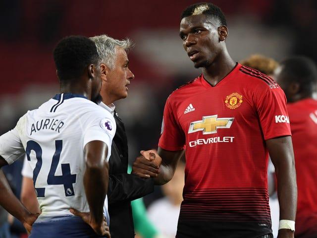 Paul Pogba e o relacionamento de José Mourinho estão se deteriorando rapidamente