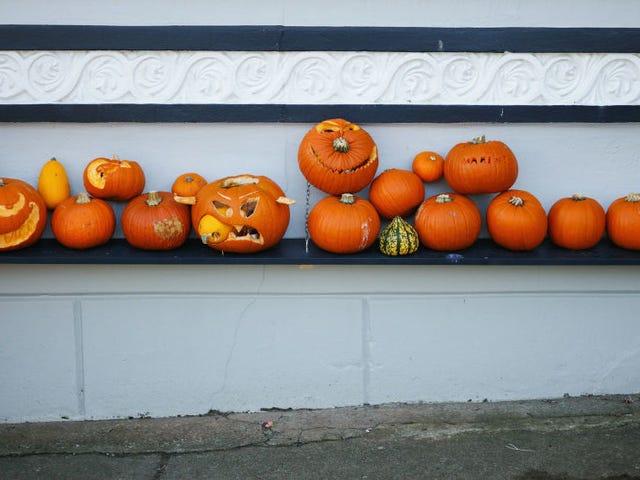 Gehen Sie dieses Halloween ein Risiko ein und schnitzen Sie einen gottverdammten Kürbis