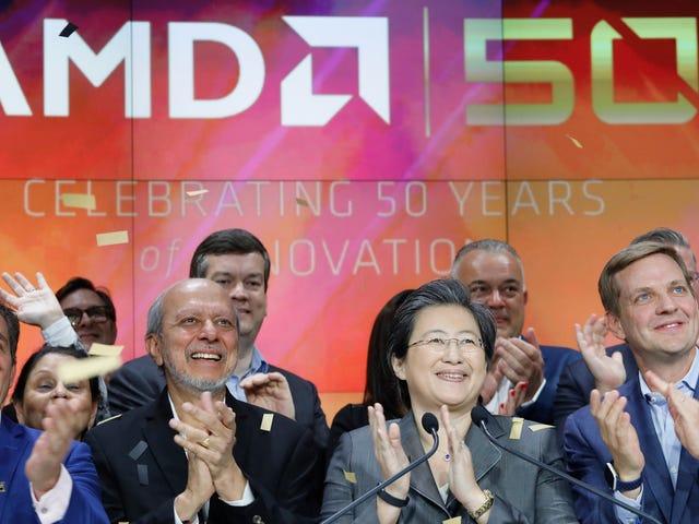 AMD nie avoir signalé avoir mal partagé une technologie de processeur sensible avec la Chine