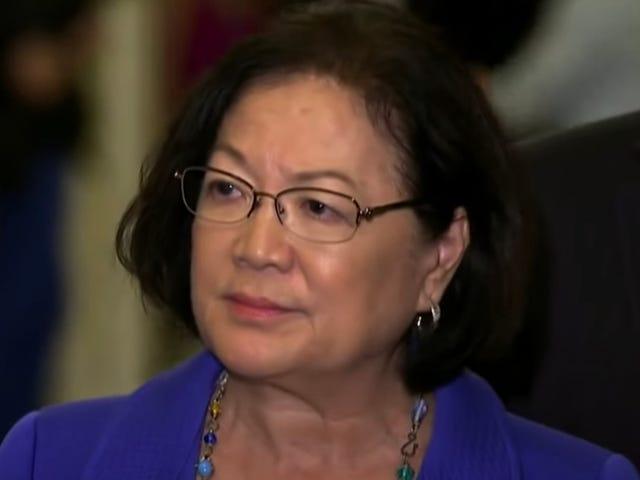 अमेरिकी सीनेट डेमोक्रेटिक महिलाओं / POTUS उम्मीदवारों ने न्याय के अमेरिकी मानकों का पालन किया #BarrLies