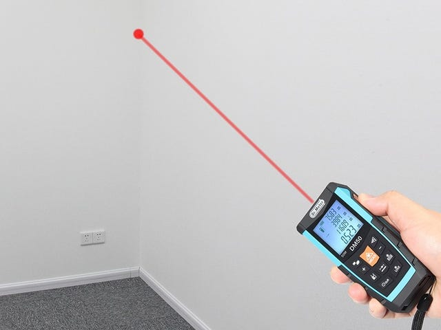 This $20 Laser Distance Measure Does All the Math For You