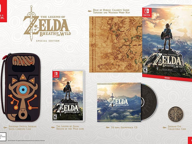 Breath of the Wild Special Edition Is Back In Stock, If You Hurry