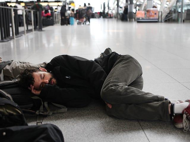 Sådan undgår du at blive ramt af en flyvning