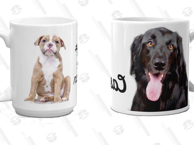 Έκπληξη ο εραστής σκυλιών στη ζωή σας με αυτό το εξατομικευμένο κούπα που είναι 20% έκπτωση