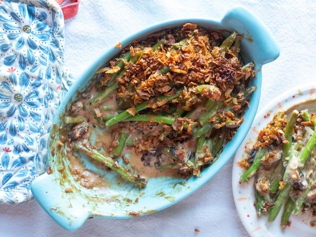कैसे मलाईदार शाकाहारी ग्रीन बीन पुलाव बनाने के लिए