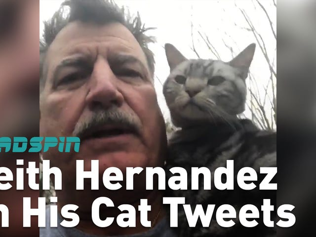 Keith Hernandez Has A Lot To Say And It's Not All On Twitter