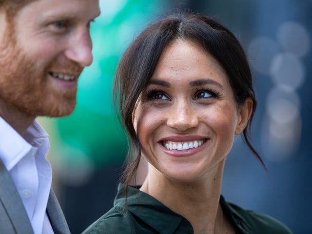 A Year in the Life: Meghan and Harry Celebrate Their 1st Anniversary—With Help from Gayle King