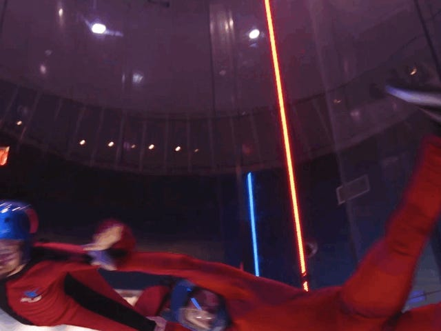 Indoor Virtual Skydiving Is Cool—But It Just Made Me Want to Jump Out of a Plane for Real
