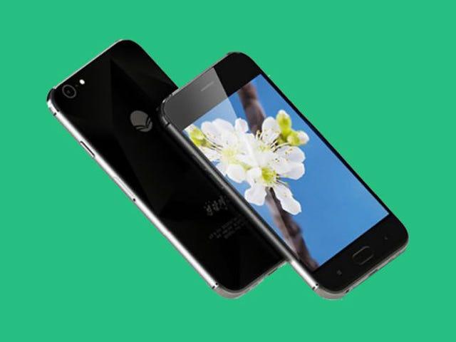 El nuevo smartphone de Corea del Norte es otra copia descarada del iPhone
