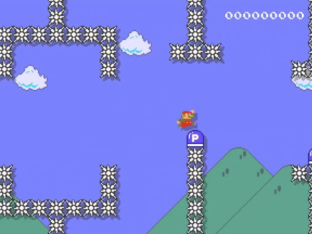 Nintendo Just Made A Maddening Change To Mario Maker's P-Switch