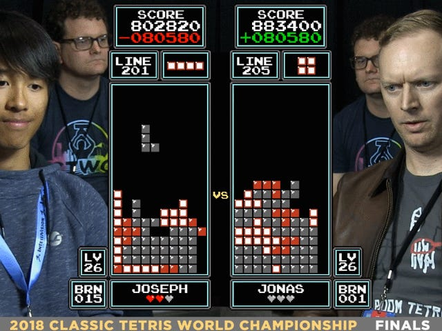 16-Year-Old Dethrones <i>Tetris</i> World Champion With Difficult Hyper-Tap Technique<em></em>