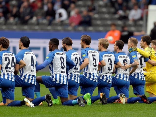 More German Soccer Players Have Taken a Knee Than US Baseball or Hockey Players