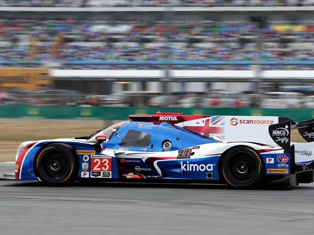 I Really Hope Fernando Alonso Isn't Cursed But He's Having Fun At Daytona