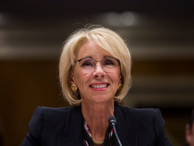 Lock Her Up! Betsy DeVos Used Her Personal Email for Government Business