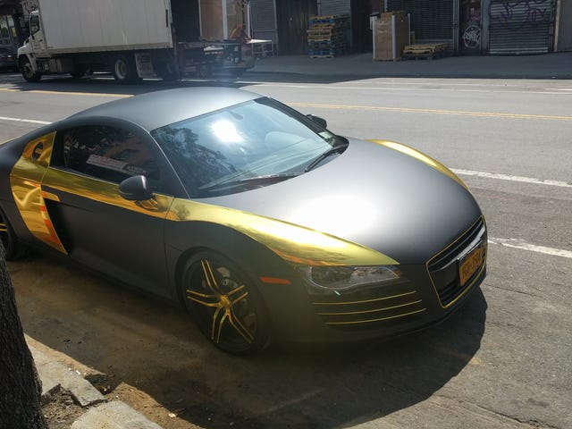 How to ruin an Audi R8