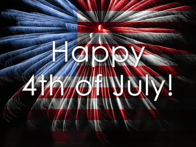 4th of July Weekend Open Thread