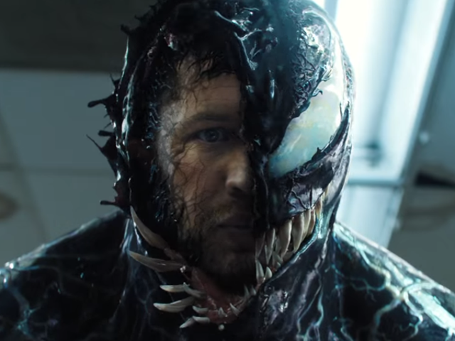 In the New Venom Trailer, Eddie Brock Meets the Beast Within