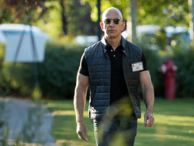 El CEO de Amazon, Jeff Bezos, se convierte en la persona más rica del mundo
