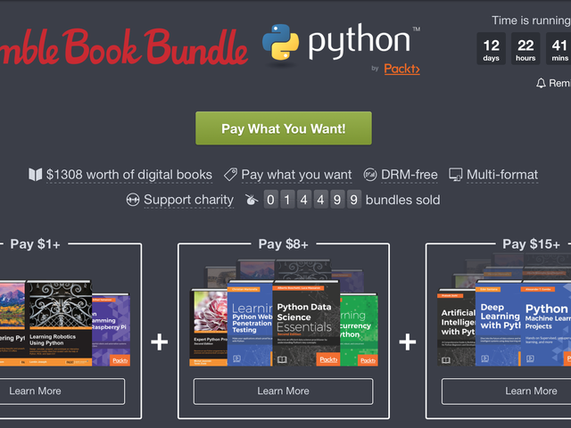 Learn Python This Year With This Humble Ebook Bundle