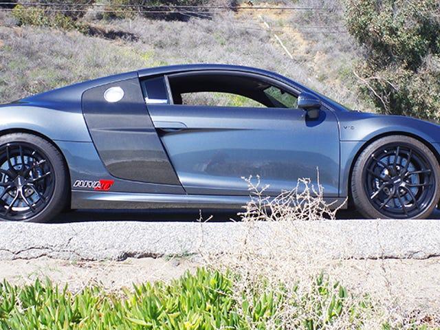 El Audi R8 no necesita una actualización de Turbo de $ 40,000, pero seguro que se siente bien