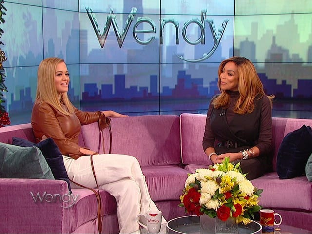 Rita Ora Joins Wendy Williams on Her Show a Year and a Half After Wendy Wondered Who She Was