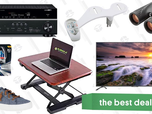 """Thursday's Best Deals: Office Furniture, 75"""" TV, Sperry Sale, and More"""