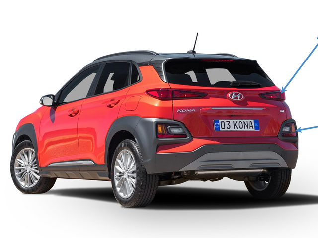 I Need to Know How We Feel About the Hyundai Kona's Taillight Setup