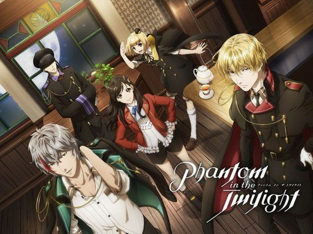 "Goditi il ​​nuovo promo dell'anime di ""Happy Elements 'Phantom in the Twilight"""