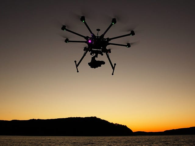 Congress Is Giving Feds the OK to Shoot Down Drones