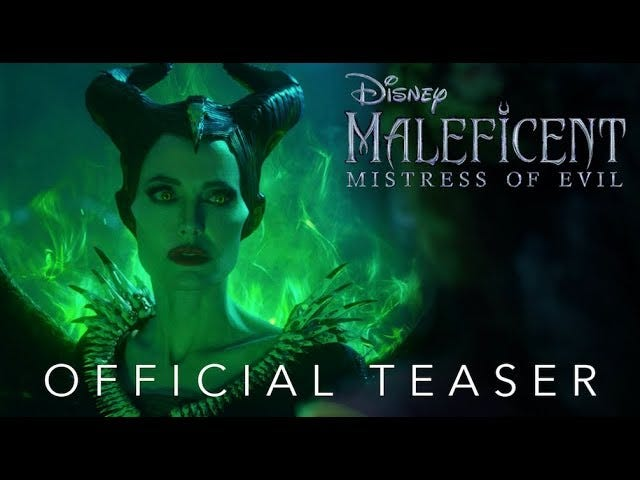 Angelina Jolie's Horns and Cheekbones Are Back for Maleficent: Mistress of Evil