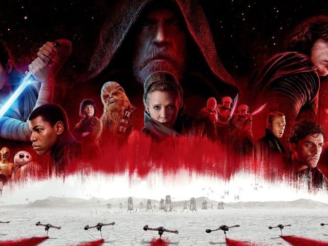 Todos los detalles y secretosque revela el BluRay de<i>Star Wars:</i><i>The Last Jedi</i>