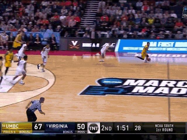 16 Beats 1: UMBC Shocks Virginia
