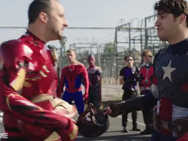 Marvel's Civil War Rivalries Spill Over Into the Real World In Funny Or Die's Hilarious Short