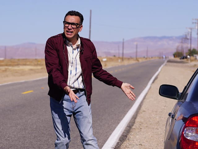 Fred Armisen stars as a cannibalistic serial killer in a flashback episode of The Last Man On Earth