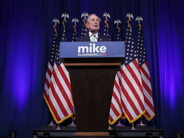 What the Hell Is Going on With Michael Bloomberg's Campaign Twitter Account?