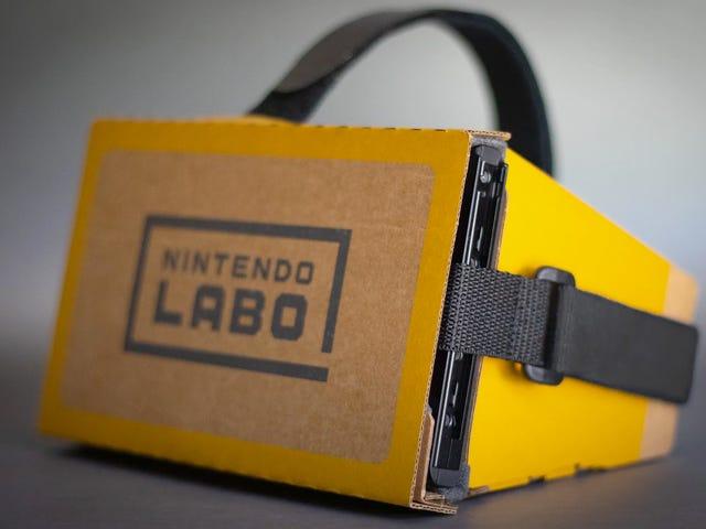 Precis i tid för Zelda VR, här är ett billigt sätt att rema din Nintendo-switch till ditt ansikte