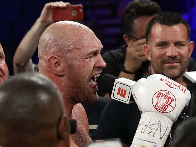 Tyson Fury Defeats Tom Schwarz To Retain His Lineal Heavyweight Title, Whatever That Means