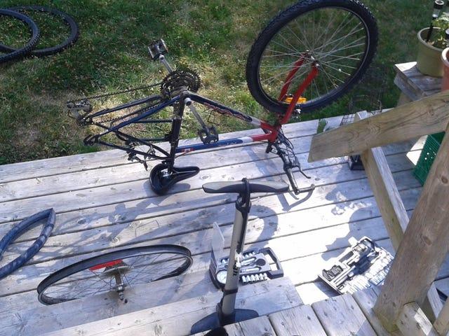 Bike Oppo!  Inoltre, HOLY CRAP SONO FUORI FORMA.