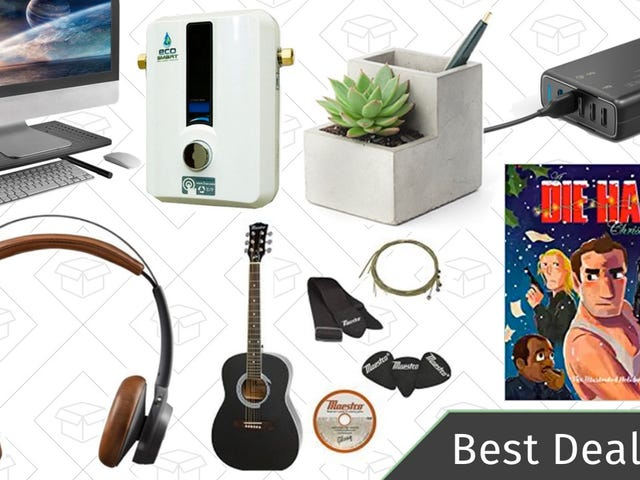 Wednesday's Best Deals: Tankless Water Heaters, Fender Guitar Sale, Wireless Headphones, and More