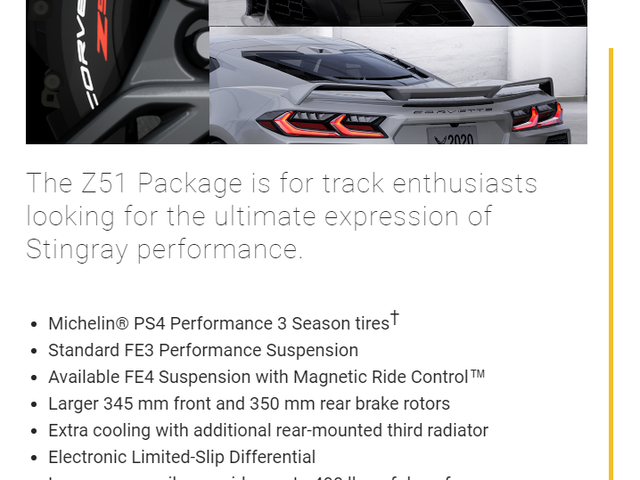 Anyone else catch the typo/grammatical error on the C8 configurator?