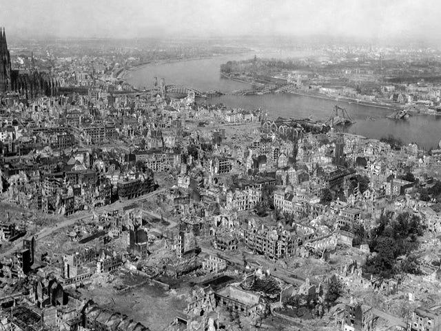 Gelombang kejut Dari Razia Pengeboman Perang Dunia II Mencapai Ujung Ruang, Laporan Ilmuwan
