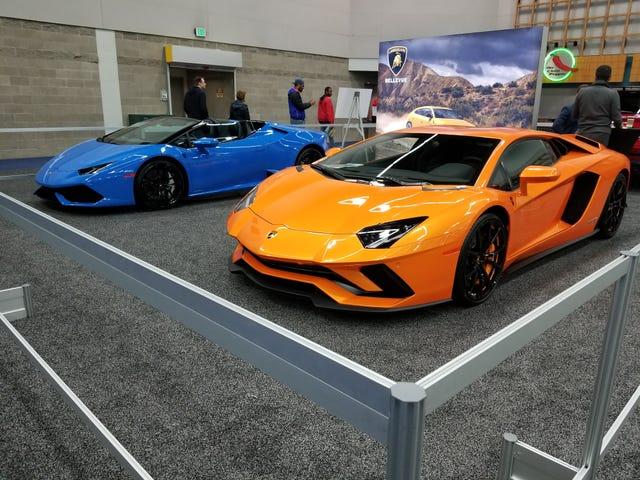 Portland Auto Show interior impressions