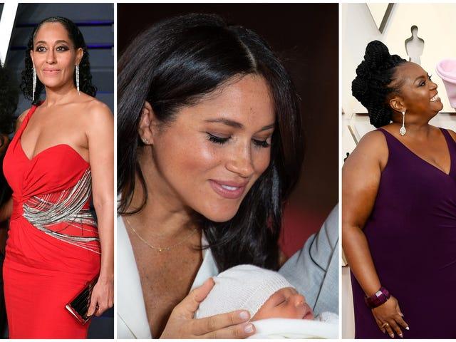 Ze krijgen het ook van hun Mama's: hoe sommige van onze favoriete beroemdheden Mother's Day vierden