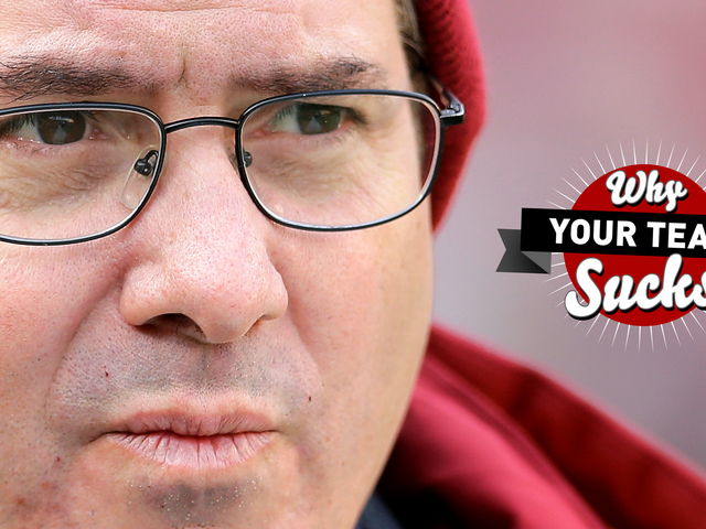 Why Your Team Sucks 2016: Washington Redskins