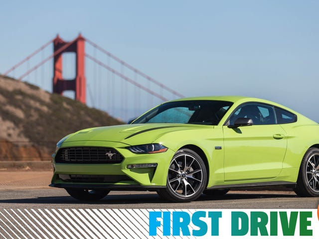 The 2020 Ford Mustang EcoBoost High Performance Package Drives Like A European Sports Car
