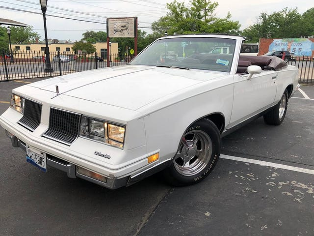 At $12,500, Could This 1983 Olds Cutlass Brougham Convertible Get You to Go Topless?