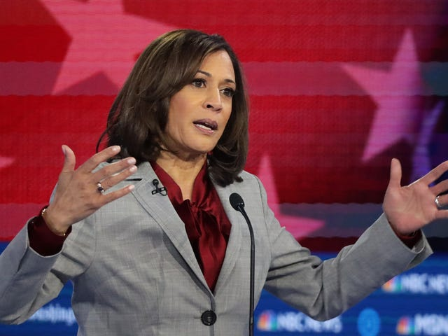 Kamala Harris Wasn't Allowed to Fail Up Like a White Boy