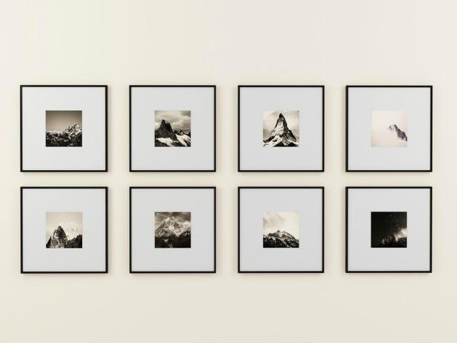 Esta aplicación de iPhone te permite probar un nuevo arte en tus paredes