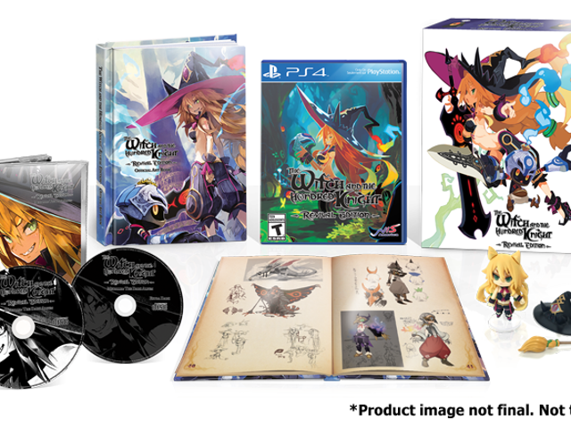Unboxing:The Witch and the Hundred Knight - Revival Edition